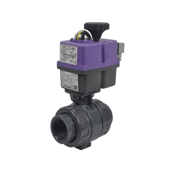 2 WAY BALL VALVES WITH ELECTRICAL ACTUATOR