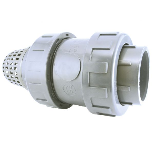 FOOT VALVE WITH PVC BALL SOLVENT SOCKET EPDM