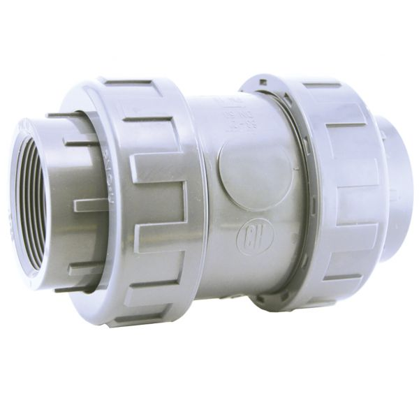 CHECK VALVE WITH SPRING EPDM DOUBLE UNION THREAD