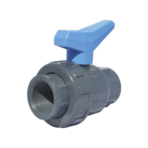 2 WAY BALL VALVE SINGLE UNIÓN MODEL THREAD EPDM
