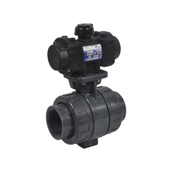2 WAY BALL VALVE PTFE - SOLVENT- EPDM