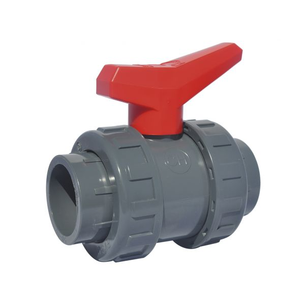 2 WAY BALL VALVE PTFE MODEL SOCKET EPDM