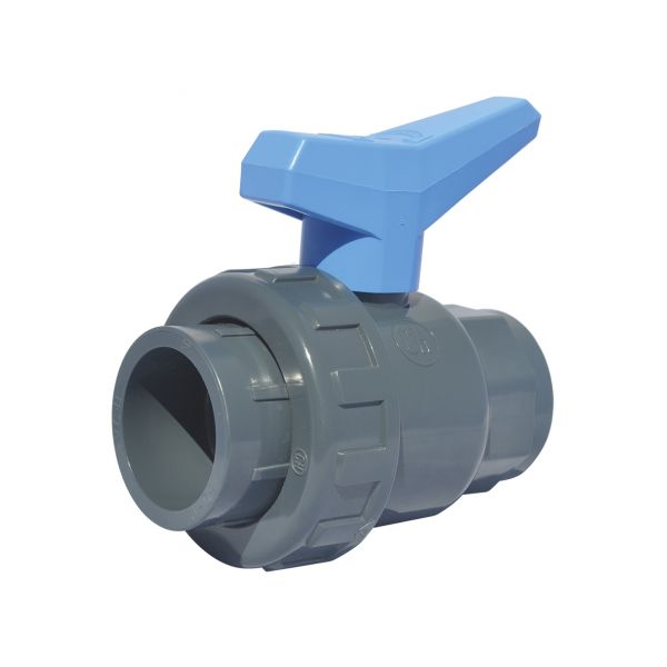 2 WAY BALL VALVE SINGLE UNIÓN MODEL SOCKET EPDM